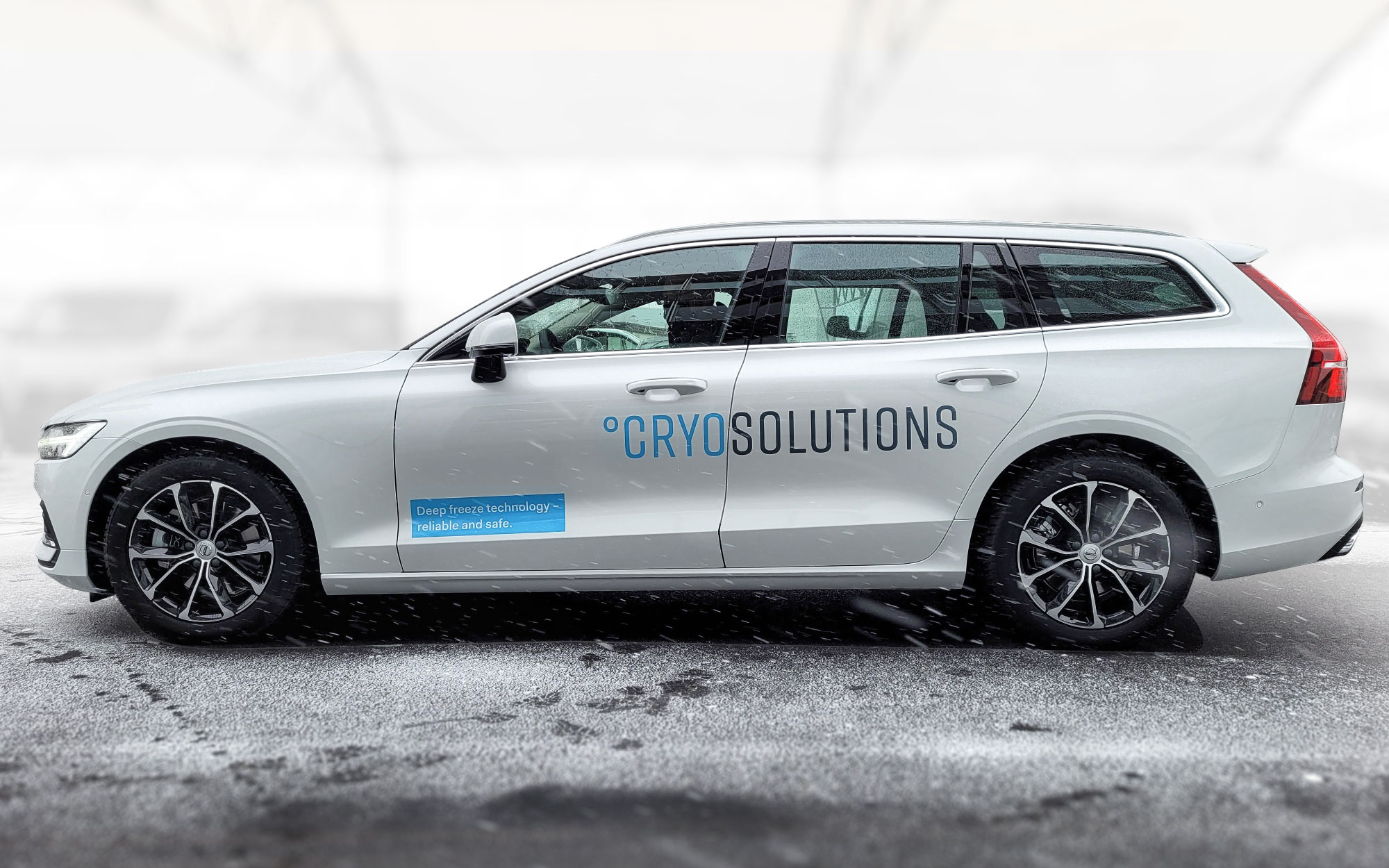 Cryosolutions autobeschiftung