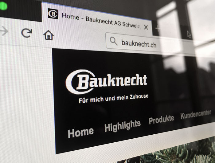 Bauknecht website
